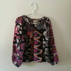 NWT patterned blouse